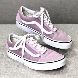 VANS Old Skool Lavender Low Top Skate Shoe Sneaker